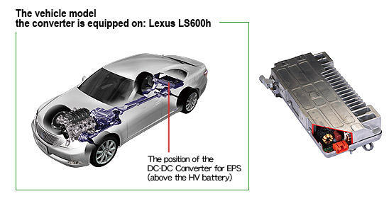 DC-DC Converter for Electric Power Steering | Toyota