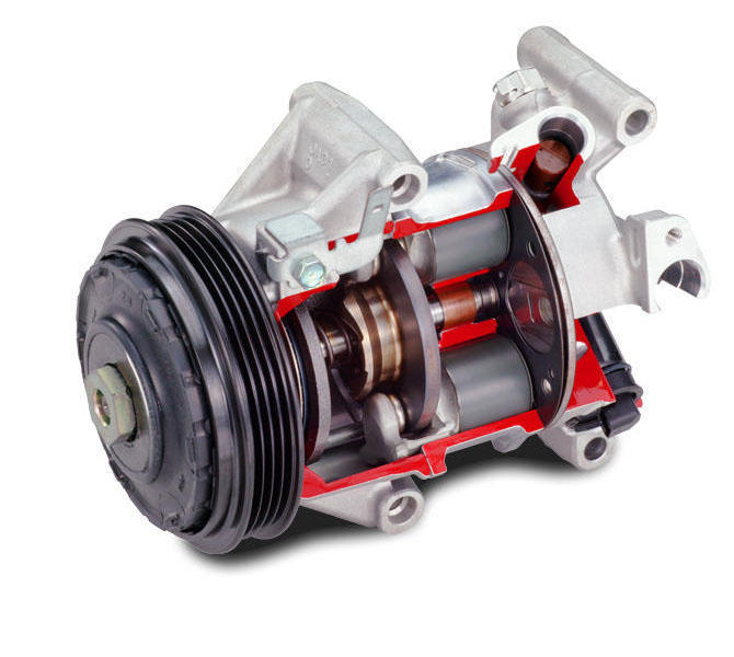 Continuous Variable-Displacement Type Compressors | Toyota