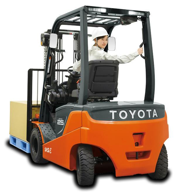 Electric Lift Trucks | Toyota Industries Corporation